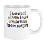 Middle fossa craniotomy - Mug
