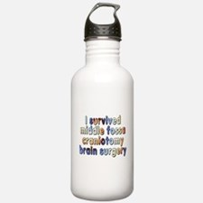 Middle fossa craniotom Water Bottle