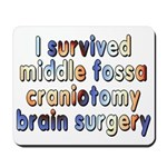 Middle fossa craniotomy - Mousepad