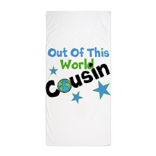 Out of this world Cousin Beach Towel