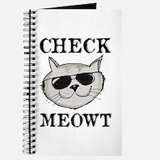 Check Meowt Journal