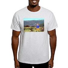 El Camino de Santiago de Compostela, Spain T-Shirt