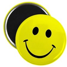 YellowSmileyFace3 Magnets