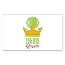 Tennis King Decal