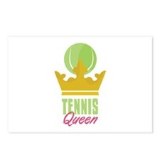 Tennis King Postcards (Package of 8)