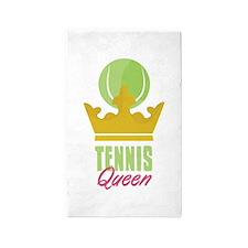 Tennis King 3'x5' Area Rug