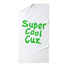 Super Cool Cuz Beach Towel