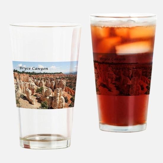 Bryce Canyon, Utah, USA 8 (caption) Drinking Glass