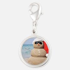 Beach Snowman Charms