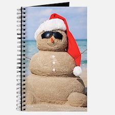 Beach Snowman Journal