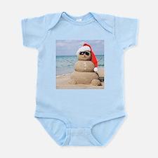 Beach Snowman Body Suit