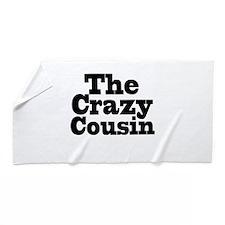 The Crazy Cousin Beach Towel