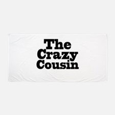 The Crazy Cousin Beach Towel
