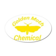Golden Moth Chemical Wall Decal