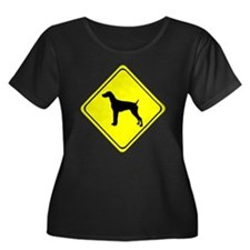 German short-Haired Pointer Cros Plus Size T-Shirt