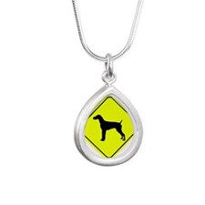 German short-Haired Pointer Crossing Necklaces