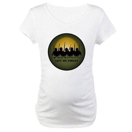 Remembrance Day Maternity T-Shirt
