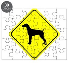 German short-Haired Pointer Crossing Puzzle
