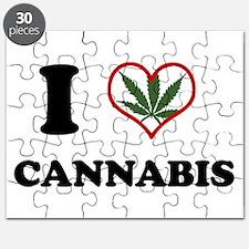 I Heart Cannabis Puzzle