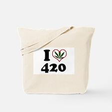 I Heart 420 Tote Bag