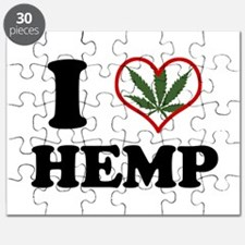 Unique I heart weed Puzzle