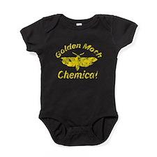 Vintage Golden Moth chemical Baby Bodysuit