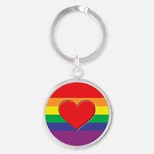 rainbow-heart-red Keychains