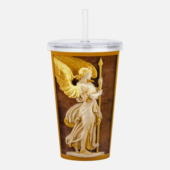 Angels003.png Acrylic Double-wall Tumbler
