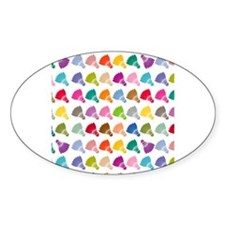 Colorful Badminton Decal