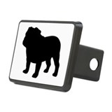 French bulldog silhouette Hitch Covers
