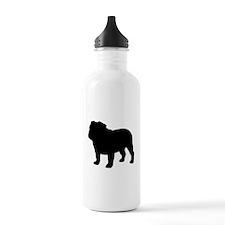 Bulldog Water Bottle