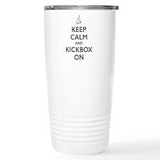 Unique Kick boxing Travel Mug