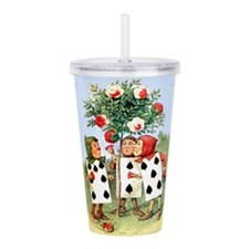 ALICE_14_10x14 Acrylic Double-wall Tumbler