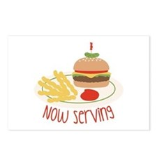 Now Serving Postcards (Package of 8)
