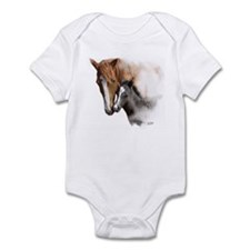 A Mothers Love Mare and Foal Infant Bodysuit