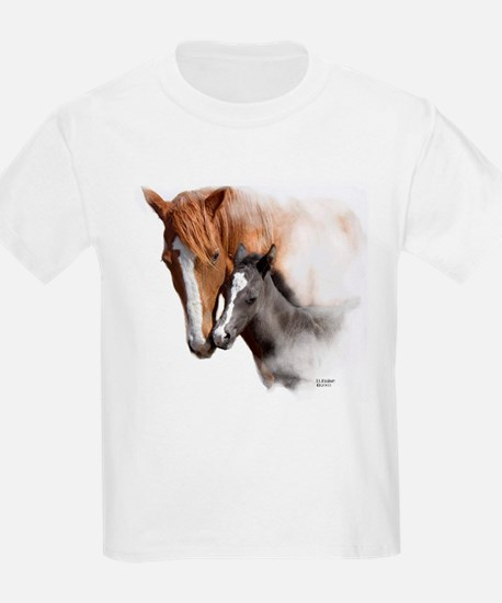 A Mothers Love Mare and Foal T-Shirt