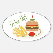 Order Up! Decal