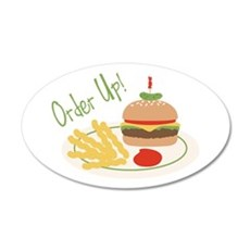 Order Up! Wall Decal