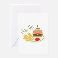 Order Up! Greeting Cards