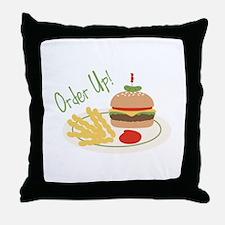 Order Up! Throw Pillow