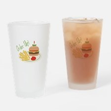 Order Up! Drinking Glass