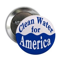 Clean Water for America Button