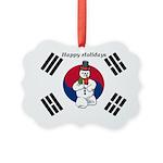 Taekwondo Christmas Ornament