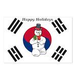Taekwondo Christmas Postcards (Package of 8)