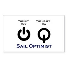 Opti Sailing Decal