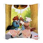 Roosevelt_Bears_liberty_bell_9x12.png Woven Throw
