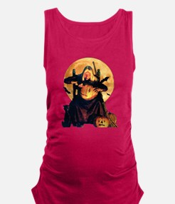 OLD WITCH_FINAL9x12b.png Maternity Tank Top