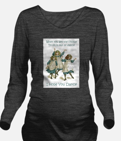 Baby April HOPE YOU DANCE.png Long Sleeve Maternit