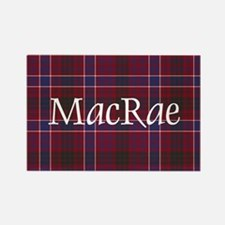 Tartan - MacRae Rectangle Magnet