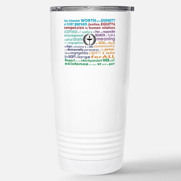 UU 7 Principles Travel Mug